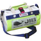 JIB マイクロダッフルバッグ MDMW73 ライムグリーン×ネイビー/グレーワッペン
