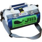 JIB マイクロダッフルバッグ MDMW73 ネイビー×グレー/グリーンワッペン