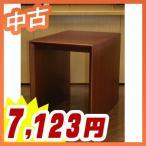 木製テーブル コーナーテーブル 応接家具【中古】