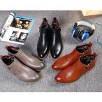 ショットブーツ レザーシューズ 革靴 カジュアル