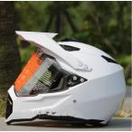 オフロードヘルメット バイクヘルメット オープンフェイスヘルメット バイク  バイク用品 カッコイイ メンズ ブラック