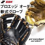 エスエスケイ SSK 硬式 プロエッジオーダーグラブ 【投手・内野・外野手用】