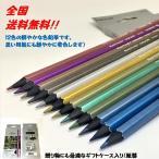 メタリックカラー色鉛筆 12色 ケース入り キラメク鉛筆 MARCO メタリックカラーペンシル