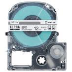 キングジム テプラ PRO テープカートリッジ 12mm 透明/黒文字 ST12K 1個