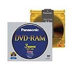 パナソニック データ用DVD-RAM(カートリッジタイプ) TYPE4 9.4GB 2-3倍速 LM-HB94L 1枚