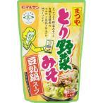 Yahoo!ぱーそなるたのめーるマルサンアイ まつや とり野菜みそ 豆乳鍋スープ 720g 1個