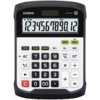 カシオ 防水・防塵電卓 12桁 デスクサイズ WD-320MT-N 1台 (お取寄せ品)