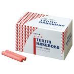 日本白墨 天神印チョーク(石膏カルシウム製) 赤 CH−2 1箱(100本)