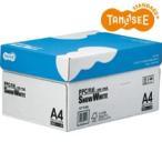 TANOSEE PPC用紙 SNOW WHITE A4 1箱(5000枚:500枚×10冊)