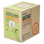 エレコム EU 自作用カテゴリー6対応 LANケーブル(リレックス・単線仕様) ライトグレー 100m LD-CT6/LG100/RS 1箱