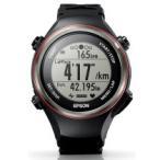 エプソン GPSランニングギア GPS機能・脈拍計測機能・活動量計機能搭載 ブラック SF-850PB 1個