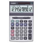 カシオ 本格実務電卓 12桁 ジャストサイズ JS−200W−N 1台