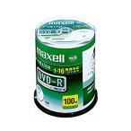 マクセル データ用DVD-R 4.7GB 1-16倍速 ホワイトワイドプリンタブル スピンドルケース DR47WPD.100SP A 1個(100枚)