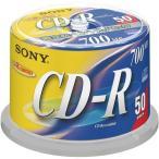 ソニー データ用CD�R 700MB 48倍速 ブランドシルバー スピンドルケース 50CDQ80DNSP 1パック(50枚)