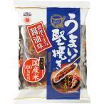 越後製菓 うまい!堅焼き 濃厚うまみ醤油味 96g(24g×4袋) 1パック