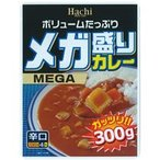 ハチ食品 メガ盛りカレー 辛口 300g 1食