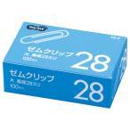TANOSEE ゼムクリップ 大 28mm シルバー 1箱(100本)