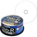 RiDATA データ用DVD−R 4.7GB ホワイトワイドプリンタブル スピンドルケース D−R16X47G.PW30SP B 1パック(30枚)