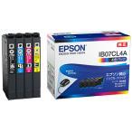 エプソン インクカートリッジ 4色パック IB07CL4A 1箱(4個:各色1個)