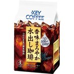 キーコーヒー 香味まろやか水出し珈琲 1袋(4バッグ)