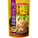 野菜をいっぱい食べる鍋あっさり醤油味 750g