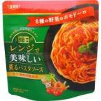 SSK レンジで美味しい!薫るパスタソース 8種の野菜のポモドーロ 120g 1個