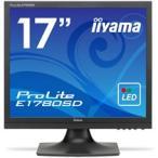 iiyama ProLite 17型スクエア液晶ディスプレイ ノングレア マーベルブラック E1780SD-B1