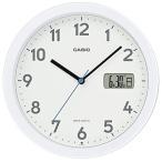 カシオ 電波掛置時計 パールホワイト IC−860J−7JF 1台 (お取寄せ品)