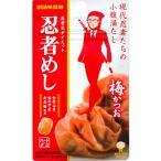 UHA味覚糖 旨みシゲキックス 忍者めし 梅かつお味 20g 1パック