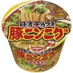 日清食品 日清デカうま 豚ニンニク味 111g 1ケース(12食)