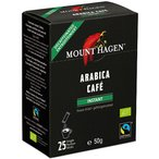 マウントハーゲン オーガニック フェアトレード カフェインレスインスタントコーヒー スティック 2g 1箱(25本)