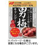 ノーベル 男梅キャンディー 80g/袋 1セット(6袋)