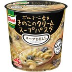 味の素 クノール スープDELI ポルチーニ香るきのこのクリームスープパスタ 1ケース(48個) (お取寄せ品)