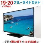 ブルーライトカット 保護パネル 19・20型 19・20インチ カット率42.95% 液晶テレビ デスクトップPC パネル 2mm厚 1920DB