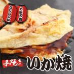 大阪名物 手作り もちもち生地の いか焼 (130g×2枚入) (イカ焼)