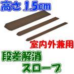 インタースロープ 幅76cm × 高さ1.5cm 奥行5cm MSRP1576 介護用品 室内スロープ 屋外スロープ