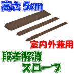 インタースロープ 幅76cm × 高さ5.0cm 奥行19cm MSRP5076 介護用品 室内スロープ 屋外スロープ