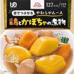 エバースマイル ムース食 鶏とかぼちゃの煮物風ムース(115g) 区分3 舌でつぶせる 介護食品 カップ入りムース食