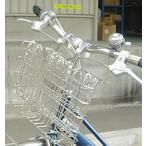 ショッピング自転車 おりたたみ自転車用フロントバスケット SOT-20 ステンレス製前カゴ[ミニベロ・小径車にも取付OK]