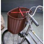 [2個までゆうパケット送料250円]自転車かご用固定バンド X バンド 赤