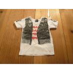 【メール便送料無料】【セール3,024円⇒】RAD CUSTOM(ラッドカスタム) 革ベストだまし絵Tシャツ