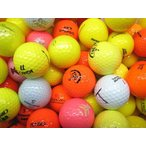 ショッピングゴルフ ロストボール Sクラス カラーボール色々 1球 中古 ゴルフ ボール