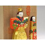 奈良の一刀彫雛人形・立雛2.5号