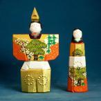 奈良の一刀彫雛人形・立雛4.5号