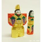 奈良の一刀彫雛人形・立雛2号