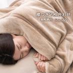 毛布 シングル 2枚合わせ 昭和西川 暖かい 衿付き ニューマイヤー毛布 140×200cm フランネル 洗える
