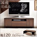 テレビ台 ローボード 幅120cm 完成品 収納 シンプル 扉付き 日本製 おしゃれ リビング テレビボード テレビラック TV台 TVボード 国産
