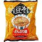 トーエー食品 E460489H トーエー どんぶり麺 納豆そば ノンカップメン 81.5g