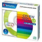 【納期目安:3週間】三菱化学メディア SW80QM5V1 1�4倍速対応 データ用CD-RWメディア (700MB・5枚)