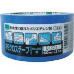 オカモト粘着製品部 4547691725059 オカモト NO420 PEクロステープ包装用 青 50ミリ